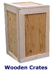 wooden crates Kent essex surrey and outer London