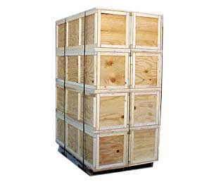 wooden crates Kent essex sussex and outer london